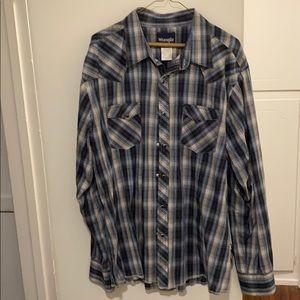 Men's Wrangler Pearl Snap Shirt